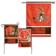 cleveland browns flags and banners house garden outdoor flags