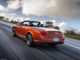 orange bentley bentley continental gt speed convertible 2014 pictures