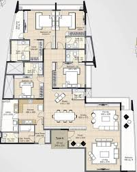3966 sq ft 4 bhk 5t apartment for sale in skyline builders kochi