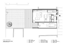 Floor Plan Salon by Gallery Of Lejeune Residence Architecture Open Form 15