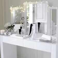 Venetian White Glass Bedroom Furniture Carlton Glass Dressing Table White Furniture The White Company
