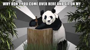 Pick Up Line Panda Meme - lap pick up line panda youtube
