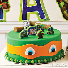 tmnt cake fondant mutant turtles cake how to party city