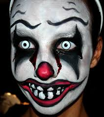 Halloween Costumes Scary Clowns Scary Clown Makeup Halloween Scary Clown Makeup