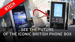 bt to replace phone boxes with public wi fi kiosks on british high