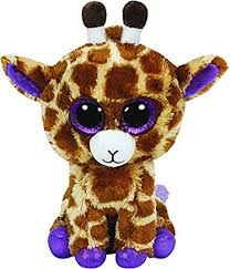 amazon ty boo buddy safari giraffe toys u0026 games