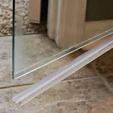 How To Clean The Shower Door How To Clean The Plastic At The Bottom Of A Glass Shower