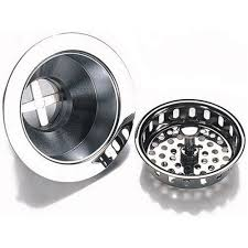 Kes Inch Kitchen Sink Drain Stopper With Basket Strainer And - Kitchen sink basket strainer plug