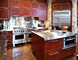 home styles kitchen island with breakfast bar steel top kitchen island home styles kitchen island with stainless