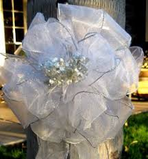 How To Make Wedding Decorations Pew Decorations For Church Weddings Pew Bows Wedding