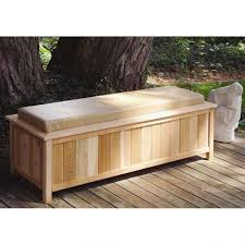 outdoor interesting outdoor deck box storage with cushion made
