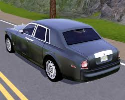 roll royce rolsroy fresh prince creations sims 3 2004 rolls royce phantom