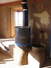 high mountain homestead rocket stove mass heater in hotchkiss
