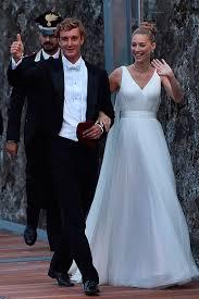 armani wedding dresses beatrice casiraghi wears armani for second wedding