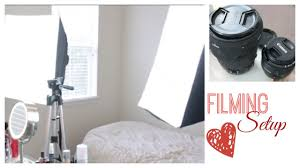 camera and lighting for youtube videos how to film youtube videos lighting filming room camera lenses