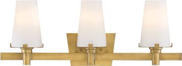 designers fountain 87903 vtg hyde park modern vintage gold 3 light