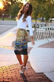 striped pencil skirt dress ala this skirt and the shade of pink it s matched with but i
