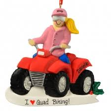 4 wheeler atv ornament personalized ornaments