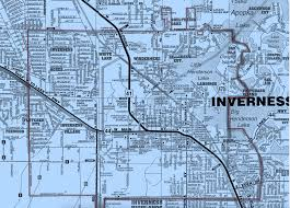Florida City Map Inverness City Limits Inverness Fl Official Website