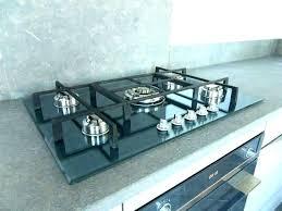 gaz de cuisine plaque de cuisson a gaz plaque de cuisson gaz 100cm p106es smeg