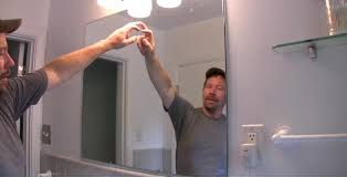 How To Hang Bathroom Mirror How To Hang A Bathroom Mirror In The Uk