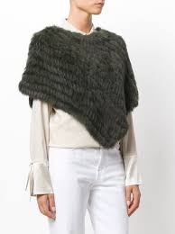 luisa cerano online luisa cerano fur poncho 232 buy aw17 online fast delivery price