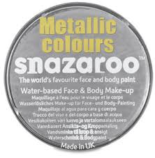 Snazaroo Light Grey Snazaroo Face Paints Blick Art Materials