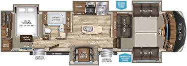5th wheel 2 bathroom floor plans floorplan rvs pinterest