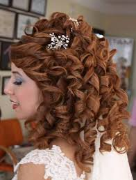 prom hairstyle down and curly popular long hairstyle idea