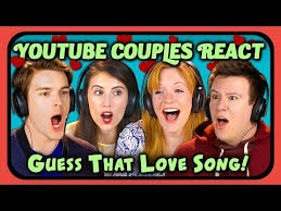 Challenge React Couples React To Guess That Song Challenge Songs