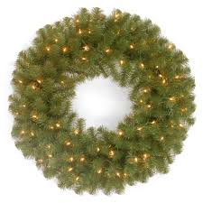 national tree company 36 in battery operated mixed fir artificial