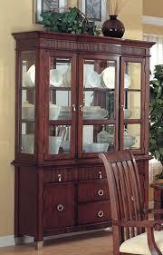 cherry wood china cabinet kendall dark brown china cabinets wood china cabinet with glass