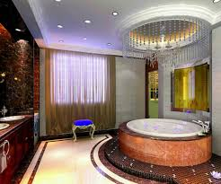 great bathroom designs with round bathtubs