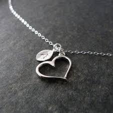 Custom Heart Necklace Nkdna On Wanelo