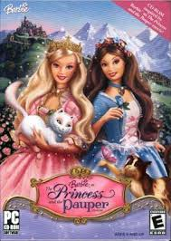 barbie princess pauper video game barbie wiki