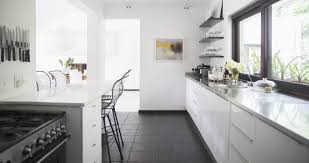 Galley Kitchen Ideas Makeovers Unique Kitchen Countertops Galley Kitchen Lead Examplary Image