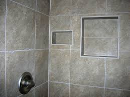 bathroom wall tile ideas brown rubber wood powder vanity and sink