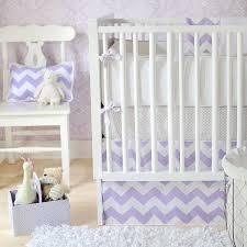 27 best purple chevron crib bedding images on pinterest nurseries