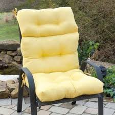 Outdoor Armchair Cushions High Back Outdoor Chair Cushions Best High Back Outdoor Chair