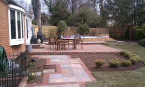 Dry Laid Patio by Endless Pool And Landscape Design In Alexandria Va
