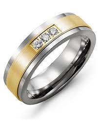 satin finish ring plain satin finish diamond wedding band madani rings