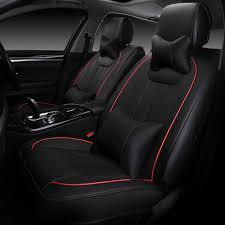 confort siege voiture universel de luxe confortable en cuir automobiles siège couvre