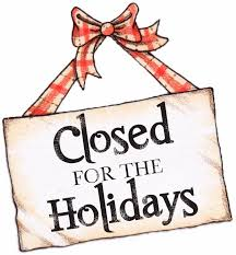 avila physical therapy office closed for the holidays