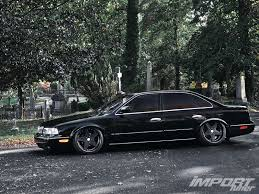 infinity car back 1996 infiniti q45 import tuner magazine