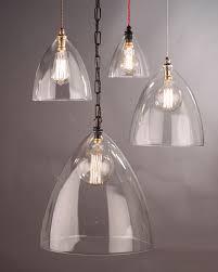 designer lighting ledbury clear glass pendant light lamps