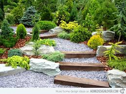 Creative Landscaping Ideas Rolland Asley Creative Landscaping With Railroad Ties