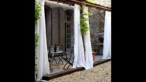 patio curtains by droppingtimber com youtube