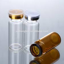 grossiste contenant verre 10 ml flacon ambre bocal en verre en gros ronde en verre potion