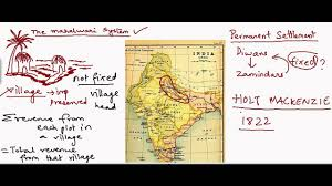 British India Map by East India Company Devises New Land Revenue Sytems Youtube