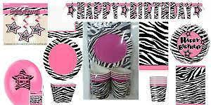 zebra baby shower zebra baby shower ebay